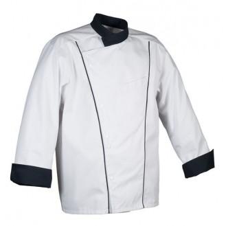 Veste de cuisine Robur Soya noire
