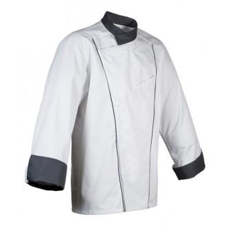 Veste de cuisine Robur Soya grise