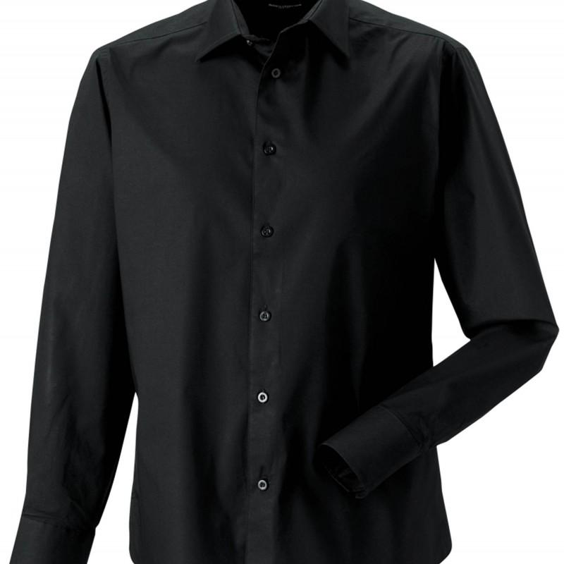 Chemise serveur noire