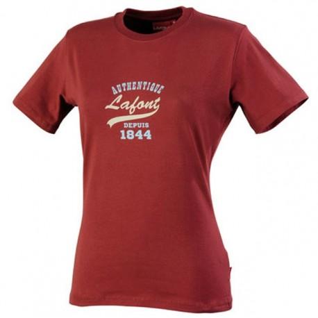 Tee shirt de travail de travail print L BY LAFONT Bordeaux CLBL