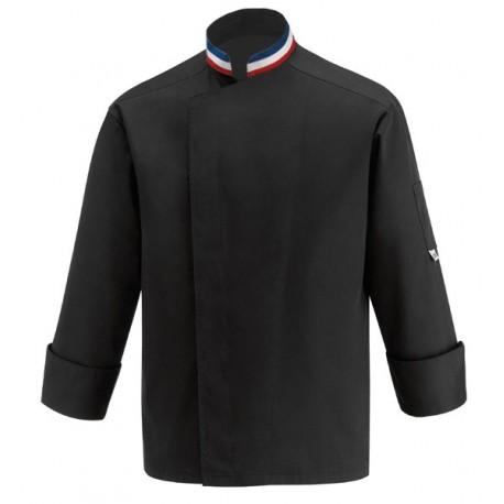 Veste de pâtissier & boulanger noire MOF