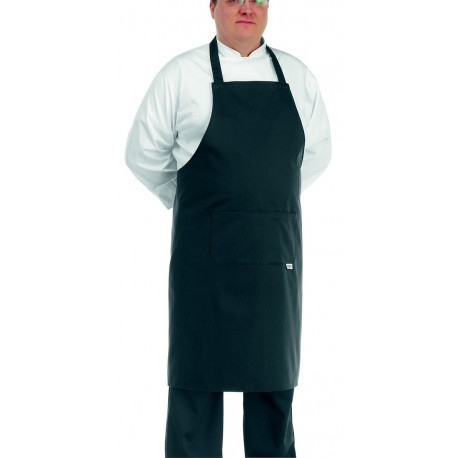 Tablier de Cuisine Noir Grande Taille