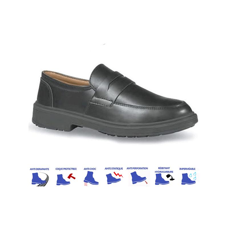 Chaussures de cuisine S3 noires légéres