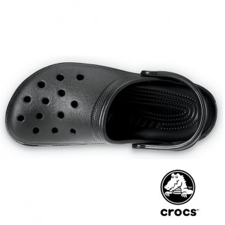Sabot médical Crocs beach noir