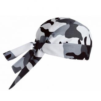 Bandana de cuisine camouflage