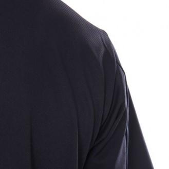 Veste de cuisine femme dos aéré liseré blanc