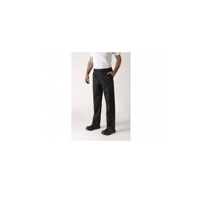 Pantalon de Cuisine à pince noir Robur