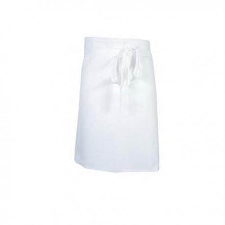 Tablier blanc demi chef 60cm - Robur