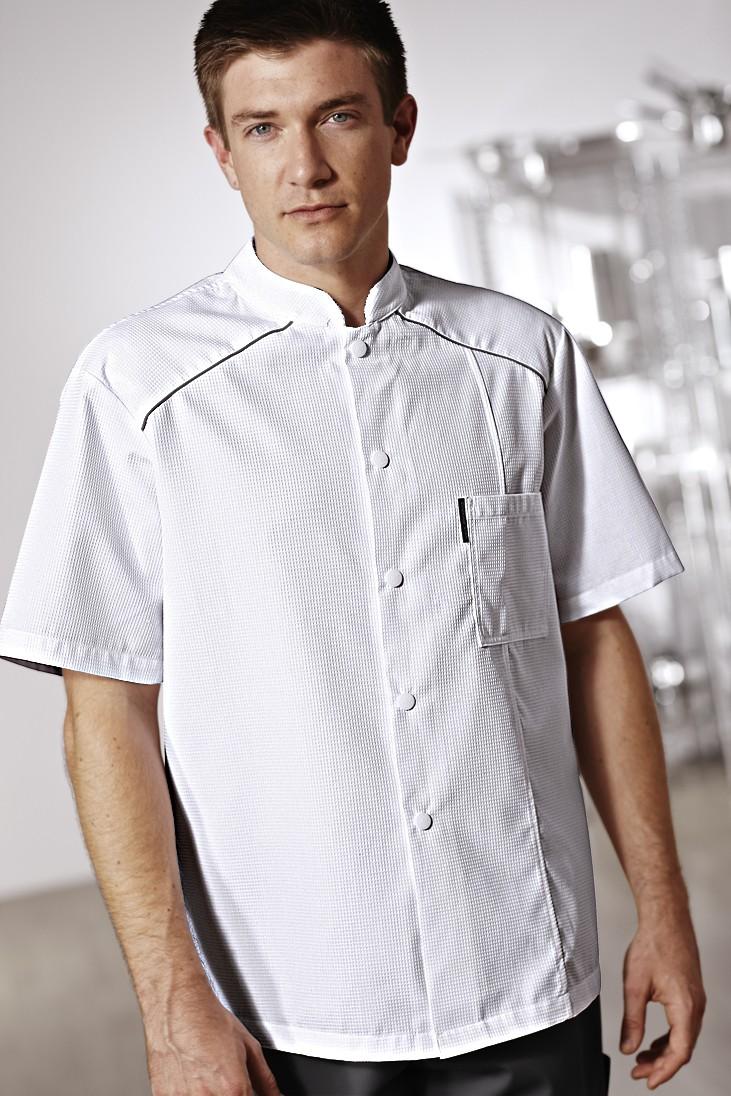 Veste de cuisine noirecooking star bragard for Pantalon de cuisine bragard