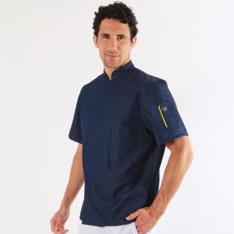 Veste de cuisine en jean - Nero Robur