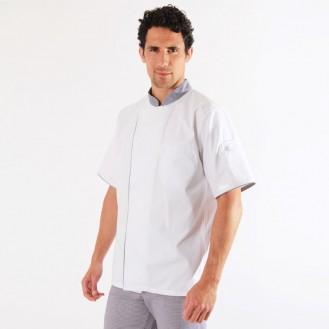 Veste de cuisine pied de poule - Ummy Robur