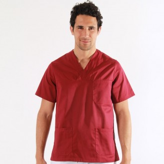Tunique rouge medical