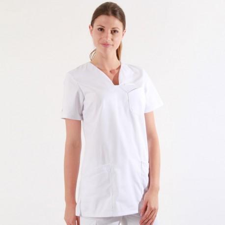 Tunique médicale blanche 2MAT
