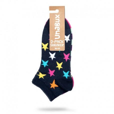 Chaussette étoile couleur - Multi Unabux