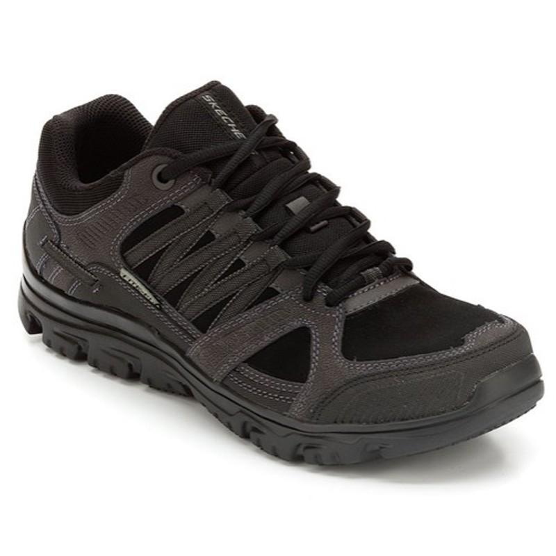 chaussure de travail noir homme skechers. Black Bedroom Furniture Sets. Home Design Ideas