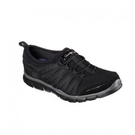 Chaussure de travail noire femme Gratis - love it - Skechers