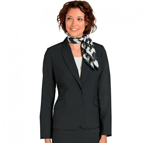 Ensemble de service femme noir Bragard (Veste + pantalon)