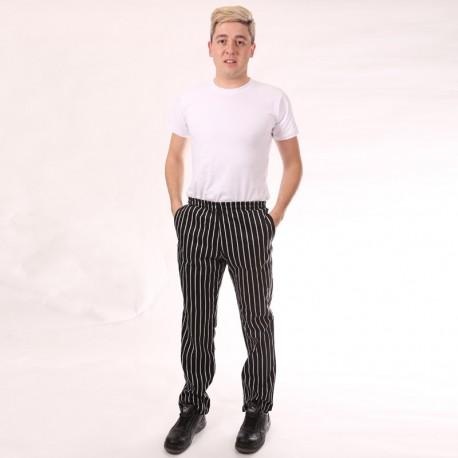 Pantalon de Cuisine Grosses Rayures
