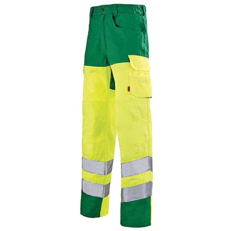 Pantalon haute visibilité jaune fluo JAUNE HIVI/ALPIN 1HVGCP
