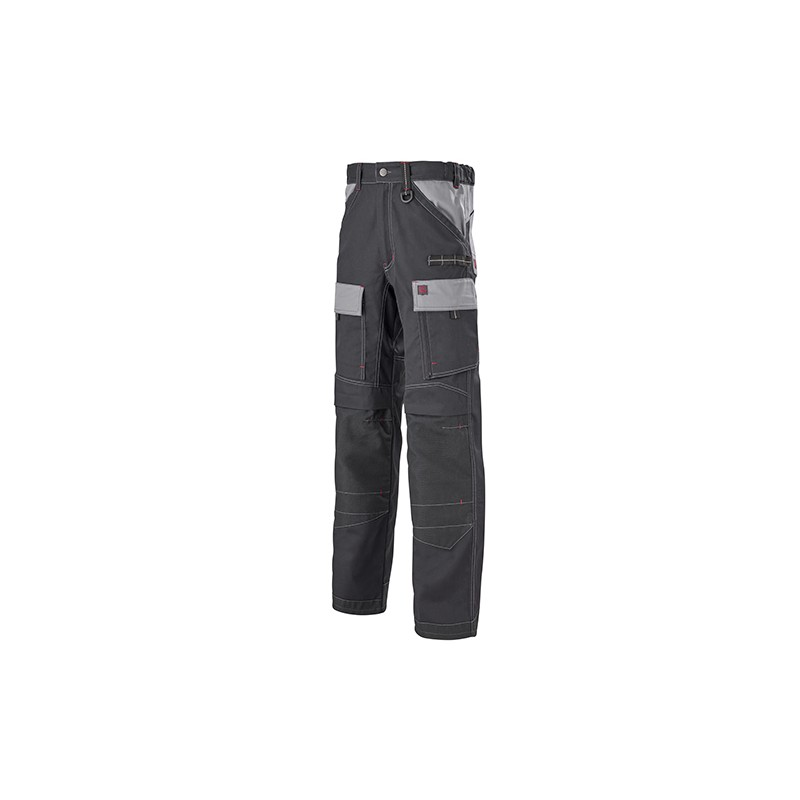 Pantalon Multipoches Protection Genoux Noir