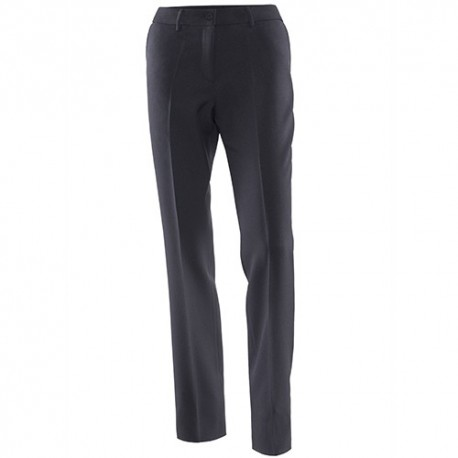 Pantalon droit femme noir