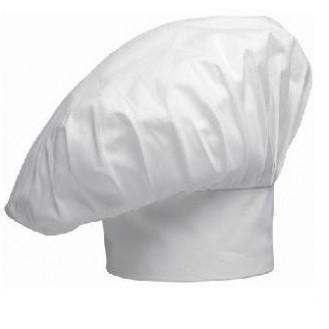 Toque de boulanger blanche