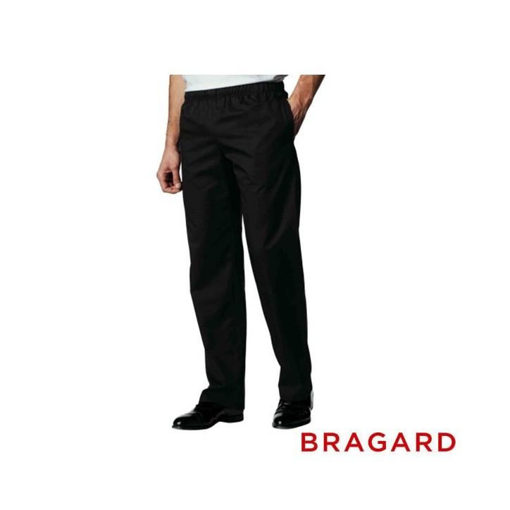 Pantalon de p tissier noir bragard - Vetement de cuisine bragard ...