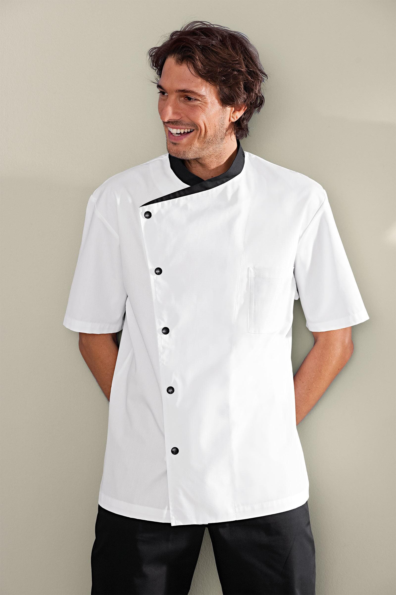 Veste de cuisine blanche bragard veste de cuisinier homme - Veste cuisine homme personnalise ...