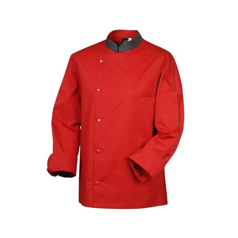 Veste de boucher rouge - Robur