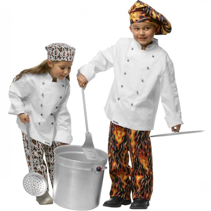 Veste de cuisine enfant for Cuisine fille