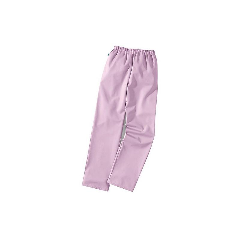 Pantalon médical mauve