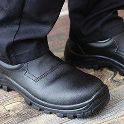chaussures de boucher