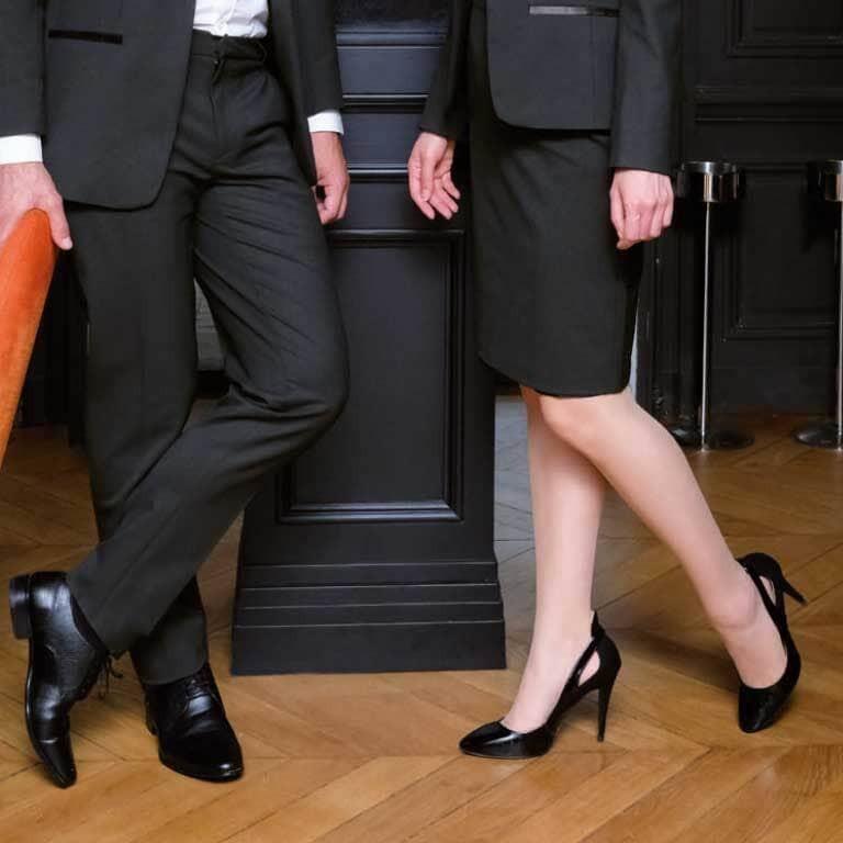 chaussures de service chaussure restauration
