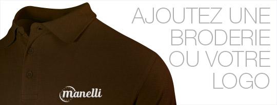 Personnalisez votre polo homme marron avec une broderie ou votre logo