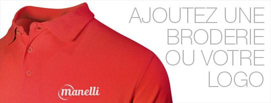 Personnalisez votre polo homme rouge avec une broderie ou votre logo