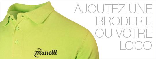 Personnalisez votre polo homme vert clair avec une broderie ou votre logo
