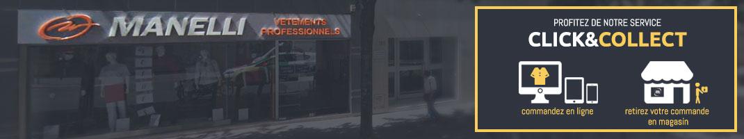 magasin Manelli Paris : vetement de travail et chaussures de securité